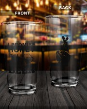 MY LAST BEER 16oz Pint Glass aos-16oz-pint-glass-lifestyle-front-14