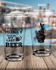 MY LAST BEER 16oz Pint Glass aos-16oz-pint-glass-lifestyle-front-15