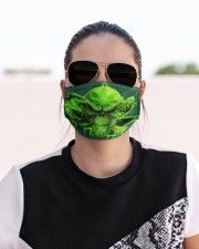 Skull 420  Cloth face mask aos-face-mask-lifestyle-02