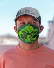 Skull 420  Cloth face mask aos-face-mask-lifestyle-06