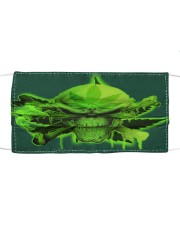 Skull 420  Cloth face mask front
