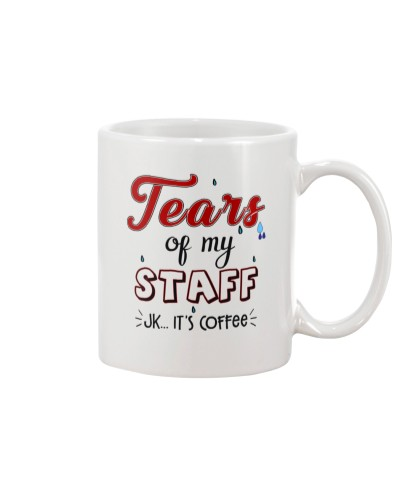 TEARS OF MY STAFF