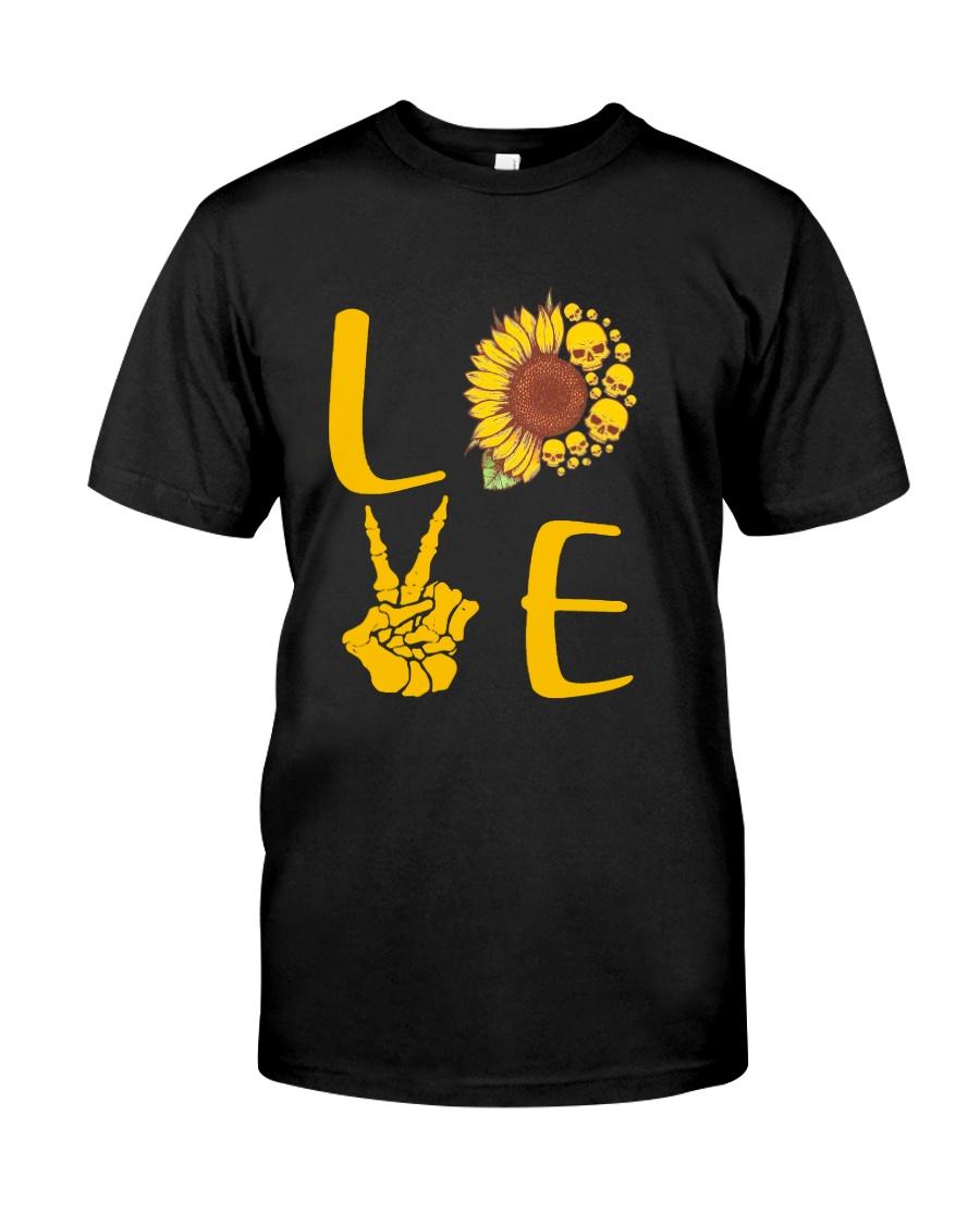 Skull Love Classic T-Shirt