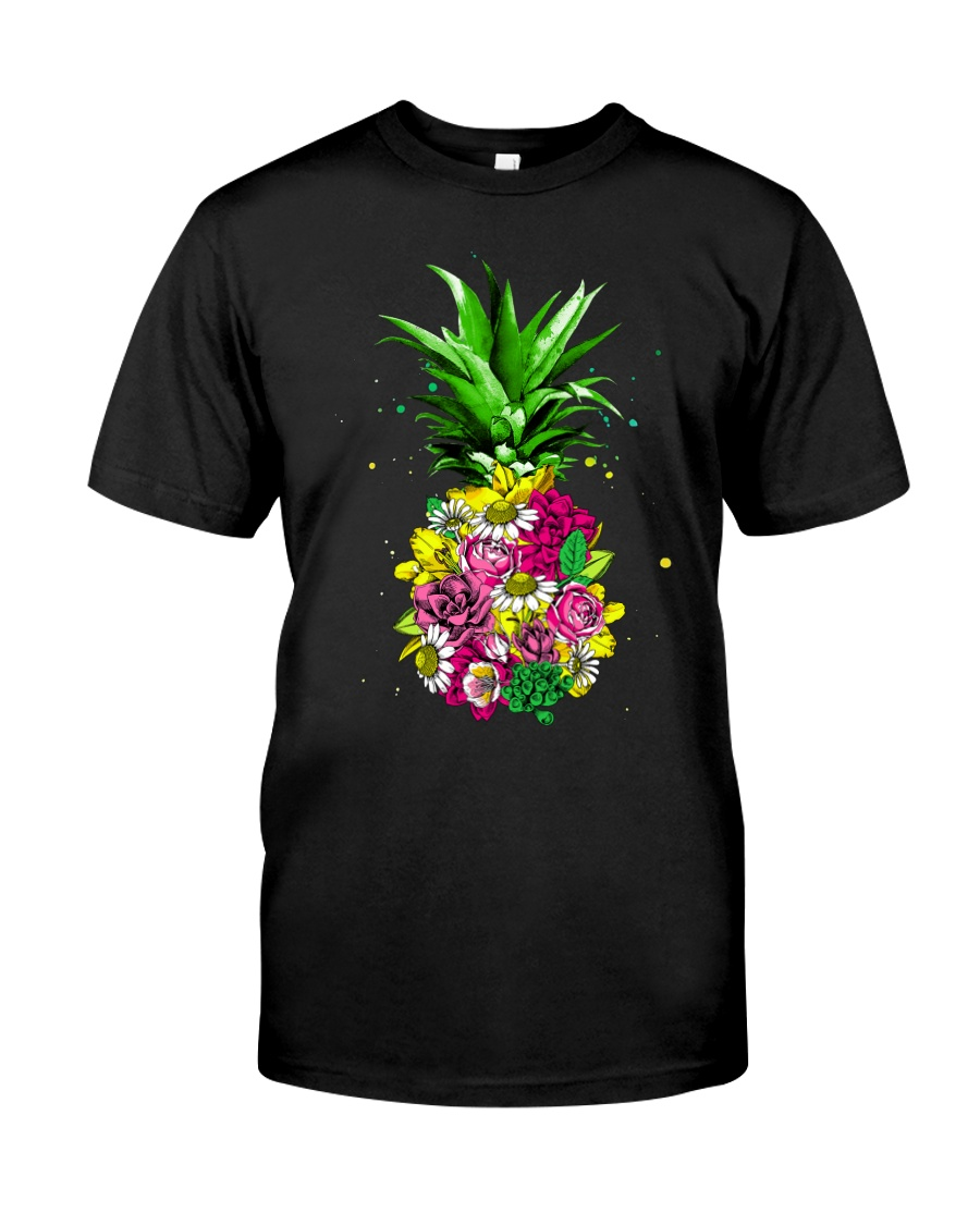 FLOWER PINEAPPLE Classic T-Shirt