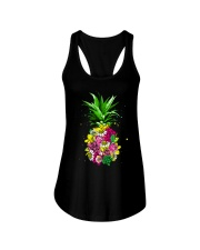 FLOWER PINEAPPLE Ladies Flowy Tank thumbnail