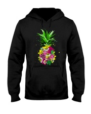 FLOWER PINEAPPLE Hooded Sweatshirt thumbnail