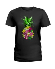 FLOWER PINEAPPLE Ladies T-Shirt thumbnail