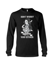 MY TATTOOS DON'T LIKE YOU EITHER Long Sleeve Tee thumbnail