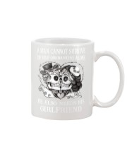 QUARANTINED ALONE LONG SLEEVES T-SHIRT Mug thumbnail