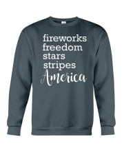 Great idea for Independence Day Crewneck Sweatshirt thumbnail