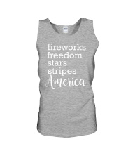 Great idea for Independence Day Unisex Tank thumbnail
