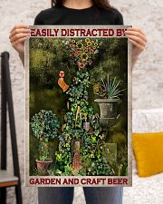 Easily Distracted By Garden And Craft Beer 16x24 Poster poster-portrait-16x24-lifestyle-18