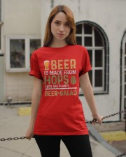 BEER IS MADE FROM HOPS  Classic T-Shirt apparel-classic-tshirt-lifestyle-19