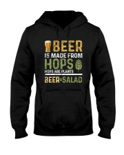 BEER IS MADE FROM HOPS  Hooded Sweatshirt thumbnail