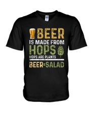 BEER IS MADE FROM HOPS  V-Neck T-Shirt thumbnail