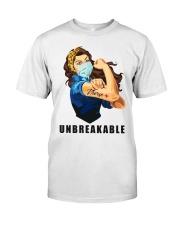 NURSE UNBREAKABLE Classic T-Shirt front