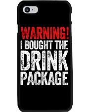 WARNING  - I BOUGHT THE DRINK PACKAGE Phone Case thumbnail
