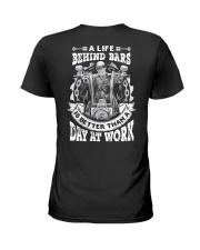 A LIFE BEHIND BAR Ladies T-Shirt thumbnail