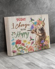 Today I choose to be happy 14x11 Gallery Wrapped Canvas Prints aos-canvas-pgw-14x11-lifestyle-front-08