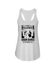 HALLOWEEN BARN DANCE Ladies Flowy Tank thumbnail