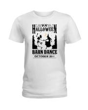 HALLOWEEN BARN DANCE Ladies T-Shirt thumbnail
