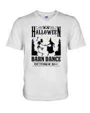HALLOWEEN BARN DANCE V-Neck T-Shirt thumbnail