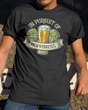 IN PURSUIT OF HOPPINESS Classic T-Shirt apparel-classic-tshirt-lifestyle-28