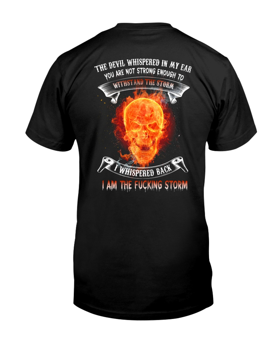 DEVIL WHISPERED Classic T-Shirt