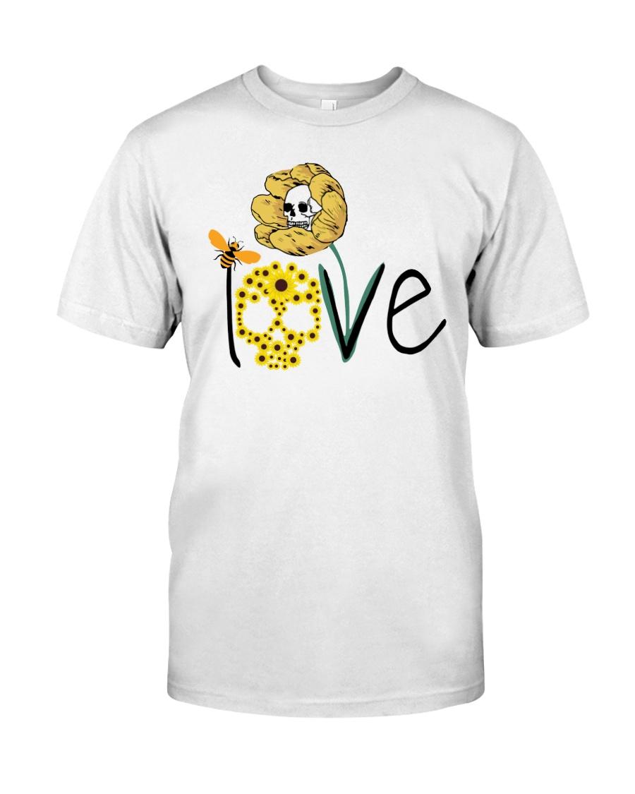 SKULL LOVE T-SHIRT   Classic T-Shirt