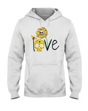 SKULL LOVE T-SHIRT   Hooded Sweatshirt thumbnail
