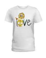SKULL LOVE T-SHIRT   Ladies T-Shirt thumbnail