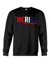 'MERICA - 3 LINES Crewneck Sweatshirt thumbnail