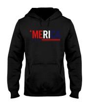 'MERICA - 3 LINES Hooded Sweatshirt thumbnail