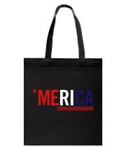 'MERICA - 3 LINES Tote Bag thumbnail