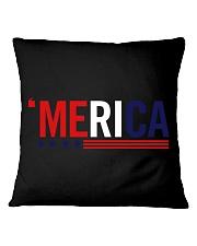 'MERICA - 3 LINES Square Pillowcase thumbnail