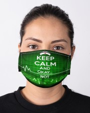 KEEP CALM Cloth Face Mask - 3 Pack aos-face-mask-lifestyle-01