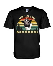 NOT IN THE MOOD V-Neck T-Shirt thumbnail