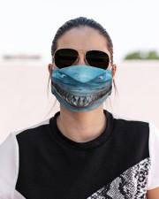 Shark Lovers 2 Cloth face mask aos-face-mask-lifestyle-02