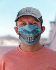 Shark Lovers 2 Cloth face mask aos-face-mask-lifestyle-06