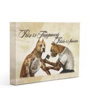 Pain Is Temporary 14x11 Gallery Wrapped Canvas Prints thumbnail