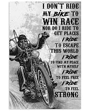 I RIDE 24x36 Poster front