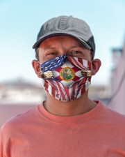 FLAGS FLORIDA Cloth face mask aos-face-mask-lifestyle-06