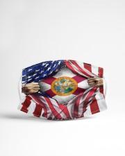 FLAGS FLORIDA Cloth face mask aos-face-mask-lifestyle-22