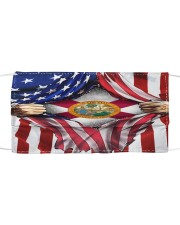 FLAGS FLORIDA Cloth face mask front