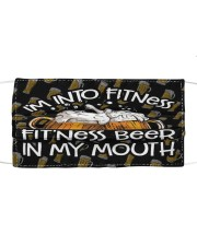 Fitness Beer Cloth face mask front