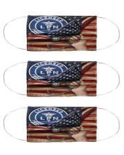 US FLAGS LPN 10 Cloth Face Mask - 3 Pack front