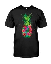 FLOWER PINEAPPLE Classic T-Shirt front