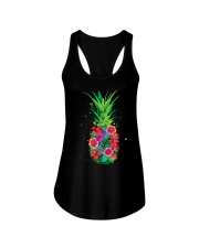FLOWER PINEAPPLE Ladies Flowy Tank thumbnail