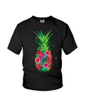 FLOWER PINEAPPLE Youth T-Shirt thumbnail