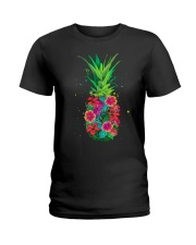 FLOWER PINEAPPLE Ladies T-Shirt thumbnail